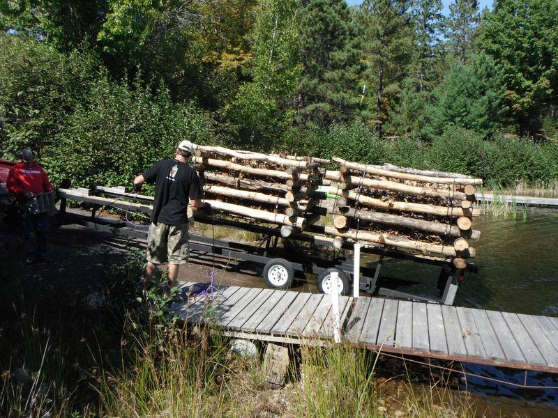 Cribs two on pontoon
