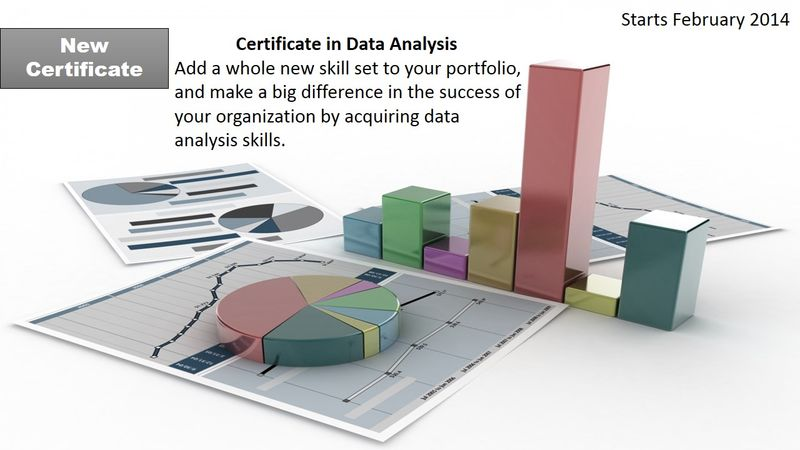 Data Analysis Certificate Ad 2014