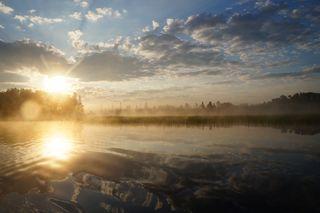 Morning on Flambeau Turtle Flowage