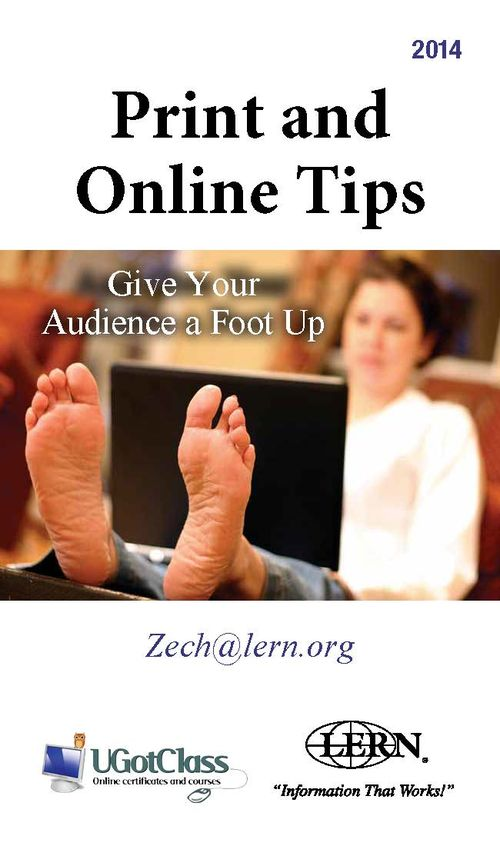 Online Tips Front Page