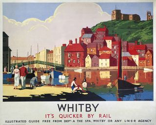 Whitby-lner-agency-poster