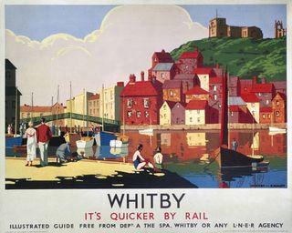 Whitby-lner-agency-poster
