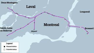 Montreal light rail