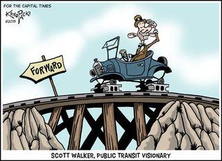 Walker cartoon