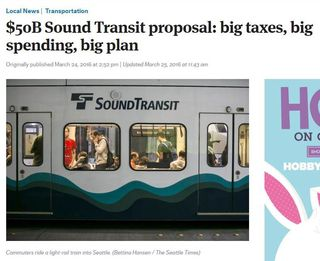 Seattle Sound Transit Two