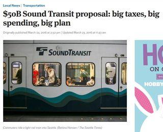 Seattle Sound Transit Two