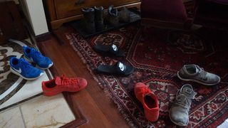 Snow and shoes 012
