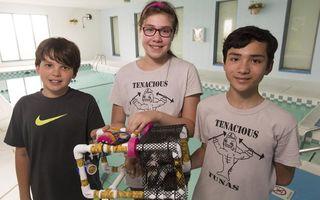 Regional robotics middle school champions