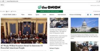 Onion on Guns